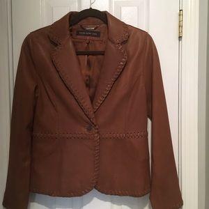 Marc New York leather blazer